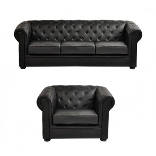 Ontario 3 Seater Sofa + Armchair Set