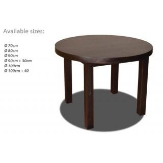 Round Table - Rectangular Legs